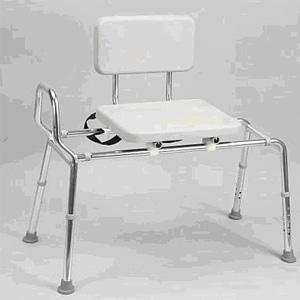 banc de transfert coulissant eagle healthcare locamedic. Black Bedroom Furniture Sets. Home Design Ideas