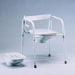 chaise d aisance allong e ajustable en hauteur locamedic. Black Bedroom Furniture Sets. Home Design Ideas