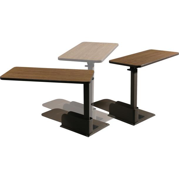 table de fauteuil a hauteur reglable