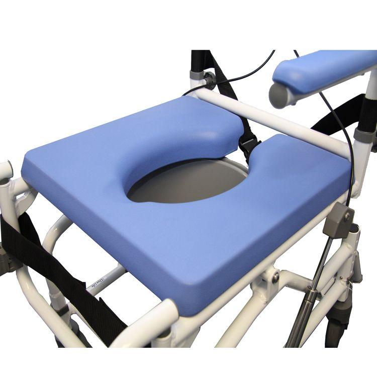 Chaise de douche inclinable et commode avec 4 positions de si ge 18 pouces locamedic - Chaise de douche inclinable ...