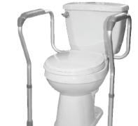 appui securitaire pour la toilette