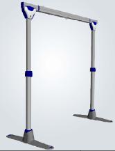 système 2 poteaux pour leve personne